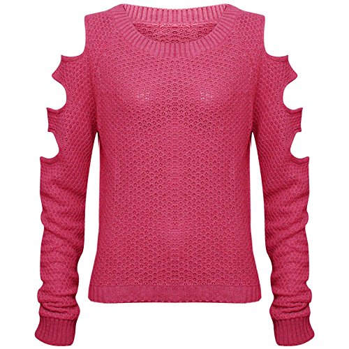 Comfiestyle - Sweat-shirt - Pull - Femme Cerise