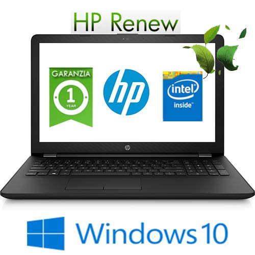 "Notebook HP 15-bs051nl Intel Pentium 4415U 4Gb 500Gb 15.6"" Windows 10 Home"