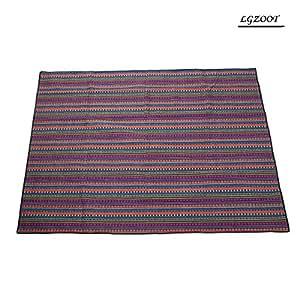 Outdoor Waterproof Oxford Cloth Beach Blanket Tent Carpet Moisture-proof Picnic Mat Camping Blankets 200 * 150cm,C