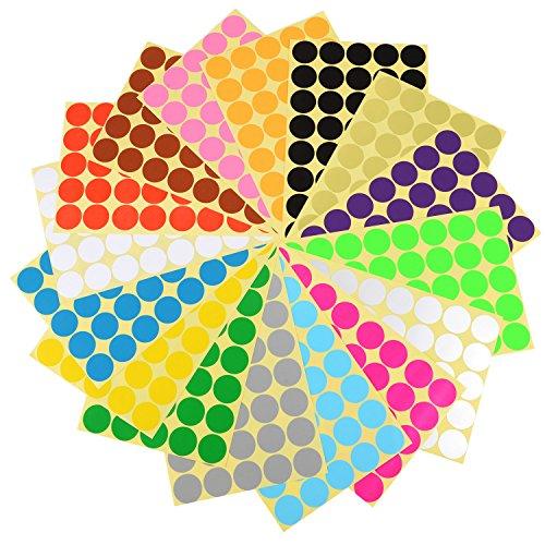 eboot-25-cm-etiketten-aufkleber-punkt-etiketten-sticker-16-verschiedene-farben-16-blatter
