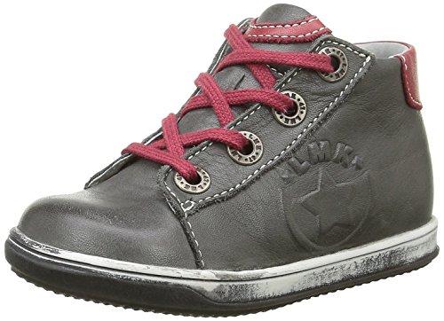 Little Mary Atchoum, Cheville Chaussures Lacées Garçon Gris (Sauvage Gris Fonce)