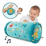 LUDI - Baby roller 'Lapin' 40 x 25 x 20 cm dès 6 mois. Rouleau gonflable qui...