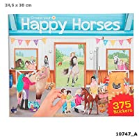 Depesche Create Your Own Happy Horses Sticker Book