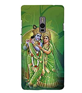 For OnePlus 2 :: OnePlus Two :: One +2 radha krishna ( radha, krishna, kanha, god, baghwan, lord, jesus, cristrian, allah ) Printed Designer Back Case Cover By FashionCops