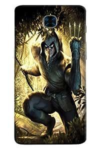 Omnam Wolverine Printed Designer Back Cover Case For OnePlus Three