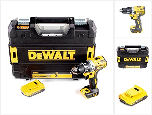 DeWalt DCD 791 NT Akku Bohrschrauber Brushless 18V 70Nm + 1x Akku 2,0 Ah in TSTAK - ohne Lader