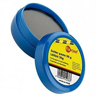 erenLine Bündekagebot Fixpoint 100 g Lötfett; Flussmittel zum Weichlöten; Industriestandard, hohe Qualität