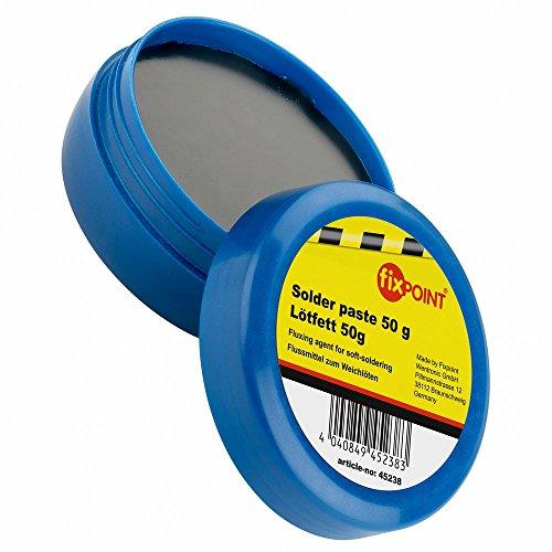 Preisvergleich Produktbild Fixpoint 100 g Lötfett; Flussmittel zum Weichlöten; Industriestandard, hohe Qualität