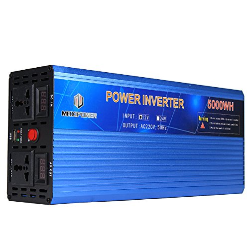 Tutoy 12V Bis 220V Power Inverter Modifizierter Sinus Stromwandler 3000W/4000W/5000W Doppel Display - 5 3500w Power Inverter