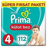 Prima Pants Külot Bebek Bezi 4 Beden Maxi