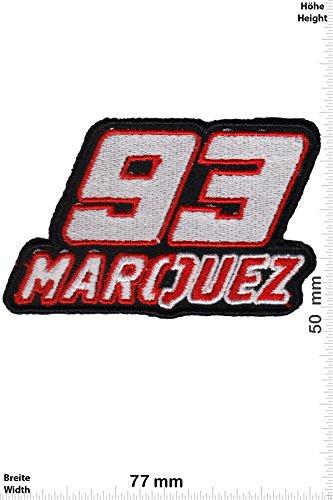 """Patches–93–Marc márquez–Spain–Motorsport–Sport–Sport Automobilindustrie–93Marc Marquez–93Marc marquez- Wandleuchte Embroidery Wappen bestickt kostüm Geschenk–Patch """""""