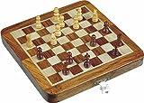 Zap Impex ® Holz magnetischen Klapp Schach 10 Zoll