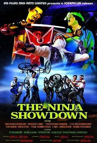 Ninja Showdown Poster 01 Metal Sign A4 12x8 Aluminium