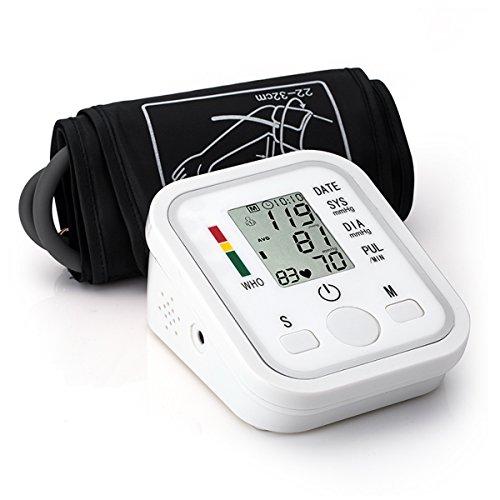 Preisvergleich Produktbild Automatisches Oberarm Blutdruckmessgerät mit Sprachansagen