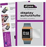 dipos I 6X Schutzfolie klar passend für Fitbit Ionic Folie Bildschirmschutzfolie