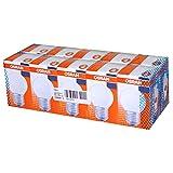 10 x Osram Glühbirne Tropfen 40W E27 MATT Glühlampe Glühbirnen Glühlampen Kugel P45