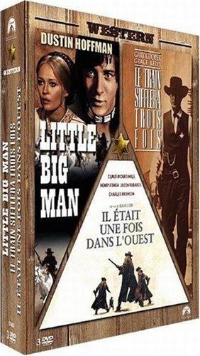 Coffret western : little big man ; le train sifflera trois fois ; il etait une fois dans l'ouest [Ed