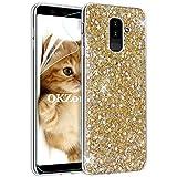 e1637b1d629 Funda Samsung Galaxy A6 Plus 2018 Carcasa Purpurina [con Protector  Pantalla],OKZone Cárcasa