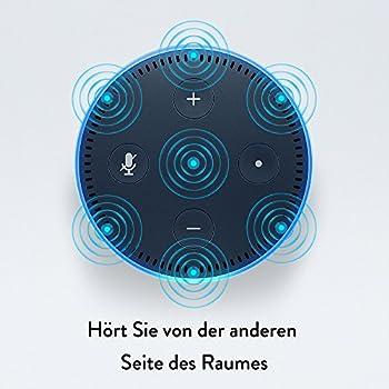 Amazon Echo Dot (2. Generation) Intelligenter Lautsprecher Mit Alexa, Schwarz 6