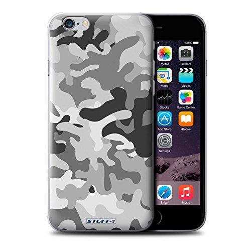 Coque de Stuff4 / Coque pour Apple iPhone 7 Plus / Blanc 2 Design / Armée/Camouflage Collection Blanc 1