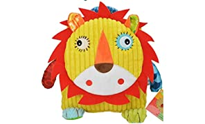 TheTickleToe Designer Baby Bags/Picnic Bags/Lunch Bags/ 3D Animal Shape Yellow Lion Ideal for 6 Month - 2 Year Old