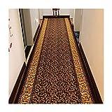 WHS Couloir Moquette Tapis Tapis de découpe de Style européen (Couleur : B, Taille : 100 * 100CM)