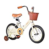 Bicyclehx Sicherheitspaket Kind Geschenk Kinder Fahrrad Super Sensitive Bremssystem Kid Bikes mit Stabilisatoren für Kinder Alter 2-10 85-150 cm (Größe : 18 inch)