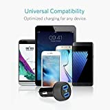 Tqka Cargador de Coche Doble Puerto 3.6A Salida USB Car Charger Adapter para iPhone 7 / 6s / Plus, iPad Pro / Air 2 / Mini, Galaxy S7 / S6 / Edge / Plus, Nota 5/4, LG, Nexus, HTC, HUIWEI y más