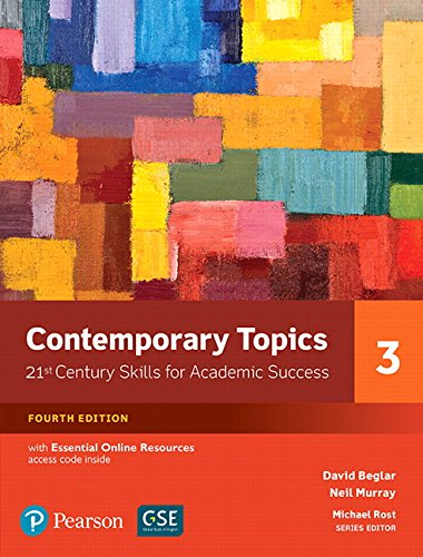 Contemporary Topics 3: 21st Century Skills for Academic Success