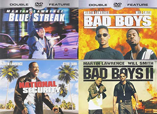 Wether He A Detective Or pretending To Be One He Always Hilarious: Blue Streak / National Security & Bad Boys 2 (DVD-Bundle 4 Martin Lawrence-Spielfilme)