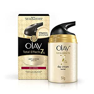 Olay Total Effects 7 in 1 Anti Aging Skin Cream (Moisturizer) Normal, 50g