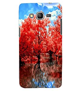 ColourCraft Beautiful Trees Design Back Case Cover for SAMSUNG GALAXY GRAND PRIME G530H