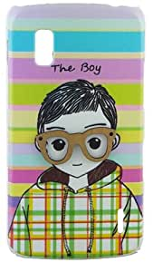 NKCREATIONS 'THE BOY' BACK COVER CASE FOR LG GOOGLE NEXUS 4 E960