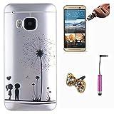 Rosa Schleife® Licht Zurück Schutzhülle für HTC One M9