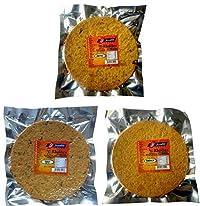 Joyable Khakhra - Combo of 3 Flavors (Methi, Masala, Methi Masala)