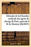 Mémoire de la Chambre Syndicale des Agents de Change de Paris, Négociation des Effets Publics
