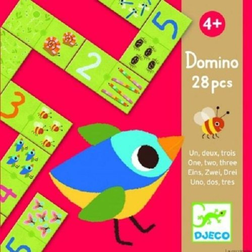 Domino eins zwei drei Djeco