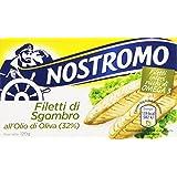 Nostromo Filetti di Sgombro all'Olio di Oliva - 120 gr