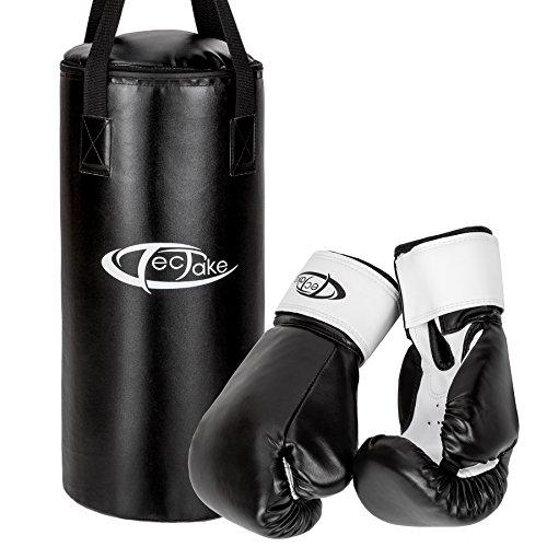 TecTake Set sacco da boxe ragazzi guanti pugilato guantoni allenamento fitness