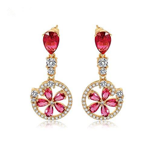 JunBo Zirkon Mode Exquisite Ohr Nagel Retro-Verkauf von Lady Ohrringe (Verkaufs-diamant-ohrringe)