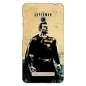 Jugaaduu Superheroes Superman Back Cover Case For Asus Zenfone 5