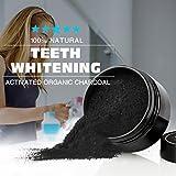 WINWINTOM Teeth Whitening Powder Natürliche Bio Aktivkohle Bambus Zahnpasta - 5