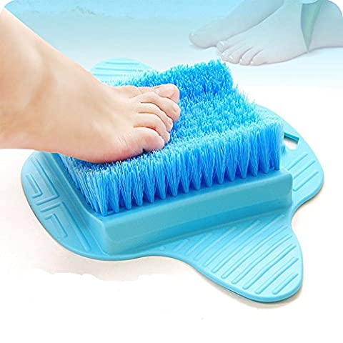 aptoco Fuß Massagegerät Scrubber brush-effectively Release die Fuß Müdigkeit Farbe Versenden zufällig