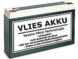 6V Vlies Akku Wartungsfrei 12 Ah Batterie Simson Moped inkl. EUR 7,50 Pfand