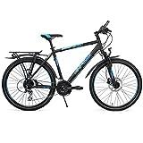 RALEIGH Herren FUNMAX DISC Fahrrad, Black matt, 40