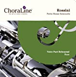 Rossini Petite Messe Solennelle BASS Voice Part Rehearsal CD