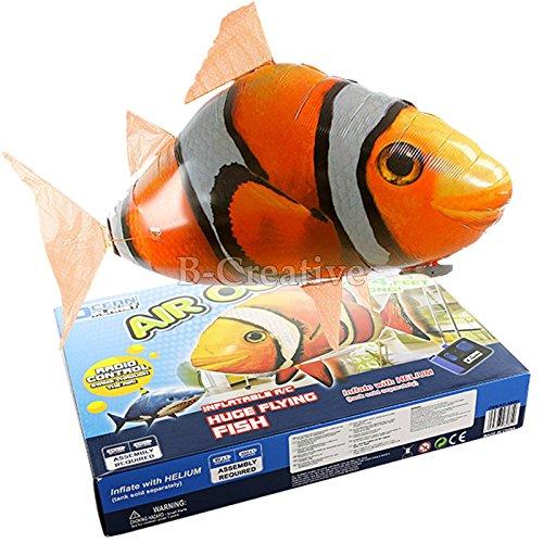 (Aufblasbare Luftballon Air Schwimmer Flying Nemo AMD Flying Shark Toy neu (Flying Nemo))