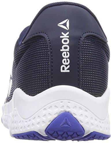 Reebok Herren Trainflex 2.0 Fitnessschuhe Blau (Collegiate Navyacid Bluecloud Greywhite 0)