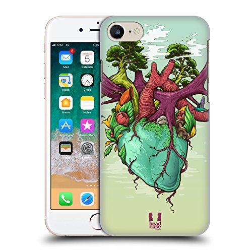 Head Case Designs Herz Der Natur Anatomie des Menschen Harte Rueckseiten Huelle kompatibel mit iPhone 7 / iPhone 8 Harte Herzen