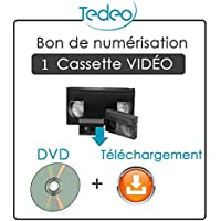 Transferencia 1cassette (VHS VHS-C Hi88mm Mini DV) sobre Dvd & carpeta digital
